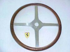Ferrari Steering Wheel Vintage Maserati_Four Spoke_Wooden NEW OEM