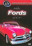 Americas Favorite Cars - Fabulous Fords of the 50s (DVD, 2004) SEE DESCRIPTION