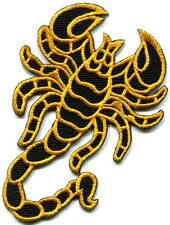 Scorpion tattoo Muay Thai kung fu martial arts applique iron-on patch S-232