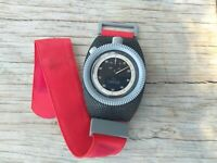 Omega stopwatch & super rare wrist holder timer stop watch military speedmaster