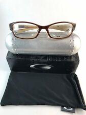 e62f7e1dcb0 New Authentic Oakley Eyeglasses VOLTAGE 4.1 light brown NWT 12-439 53-18-