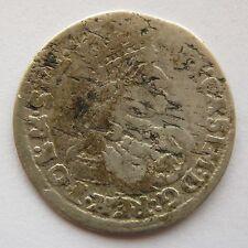 1662 Poland Silver Coin / 6 grosze / Szostak / Johann Casimir /T-T / bydgoszcz