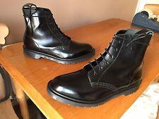 Dr Martens Arthur Black boanil boots UK 11 EU 46 punk skin goth England