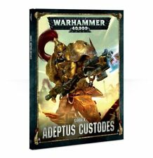 Codex Adeptus Custodes Warhammer 40K NEW 8th Edition
