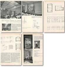 1952 Remo's Restaurant Haverstock Hill Hampstead Architecture