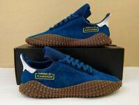Adidas Originals Kamanda 01 Mens Shoes Blue Marine Gold Brown Gum Leather DB2777