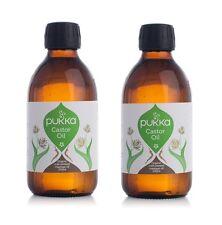 Pukka Herbs Organique Huile de ricin 250ml - pressé à froid - VÉGÉTALIEN (paquet