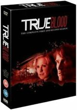 True Blood Season 1 and 2 (hbo) DVD by Anna Paquin Stephen Moyer.
