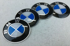 4Pcs 65mm Car Wheel Center Hub Caps emblem sticker Aluminium Accessories for BMW