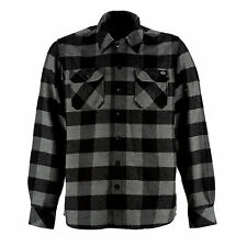 Dickies - Sacramento Check Shirt Grey Melange Abatteur De Bois Checkered Men's 3xl