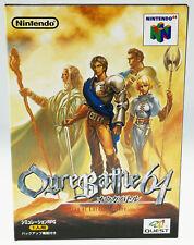 Ogre Battle 64 NUS-NOBJ-JPN CIB Nintendo 64 N64 JAPAN JAP
