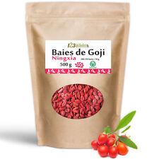 BAIES DE GOJI GREENFOOD - Sachet de 500Gr de Baies de Goji