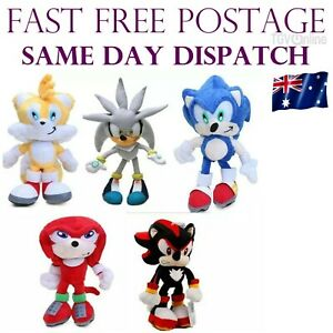 AU 23cm The Hedgehog Plush Toy Movies & TV Game Action Figure Doll Kids Gift NEW