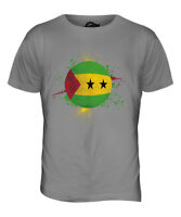 SAO TOME E PRINCIPE FOOTBALL MENS T-SHIRT TEE TOP GIFTWORLD CUP SPORT