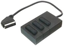 3-Wege Scartkabel Adapter AV BUS 21pin für TV DVD CD Video-Rekorder Spielkonsole