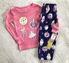 Nwt 2Pc Carter'S Girl's Pajama Set Navy/Pink Size 3T Ret $22