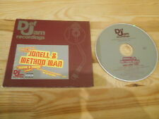 CD Hiphop Jonell & Method Man - Round & Round Remix (3 Song) Promo DEF JAM