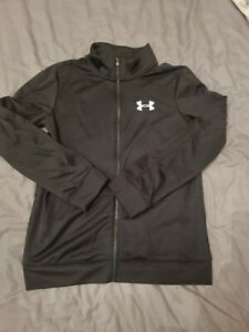 Boys Under Armour Zip Up Size Youth Large