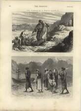 1875 Mujeres Piel justo secuestrados, comercio de esclavos costa este de África