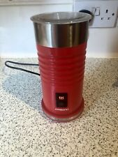Red Ambiano Electric Milk Heater/Frother Hot Chocolate