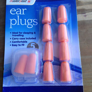 Ear Plugs a pack of 5 pairs.