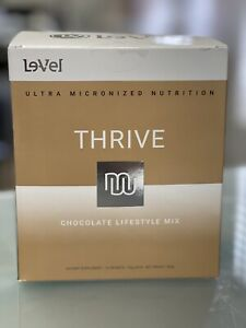 THRIVE Le-Vel - Premium LIFESTYLE MIX Shakes 16 PACKETS - Chocolate  Brand New