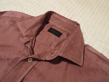 "DUCHAMP Mens Shirt 🌍 Size 16"" (CHEST 42"") 🌎 RRP £145+🌎 COOL FLORAL JACQUARD"