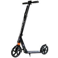 City-roller Scooter für Erwachsene Big-Wheel Kick-scooter Tret-roller 205mm A...