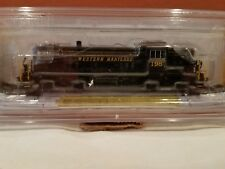 N SCALE BACHMANN LOCO #64253 ALCO RS3 DIESEL WESTERN MARYLAND #198 DCC EQUIPPED