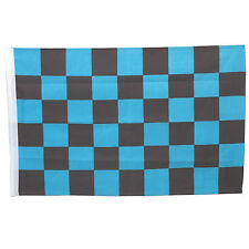 SMF Small 12 Inch X 20 Inch Replacement Blue And Black Checkered Flag For Whip