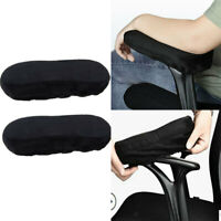 1 Pair Comfort Armrest Cushion Pad Elbow Pillow Chair Arm Rest Cover Support