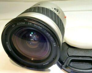 Minolta AF 28-80mm f3.5-5.6 zoom Lens For α37 α58 α68 Alpha auto focus