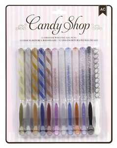 American Crafts 12-Pack Candy Shop Pens
