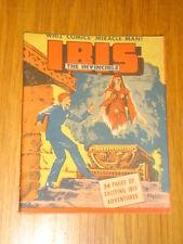 MIGHTY MIDGET COMICS IBIS THE INVINCIBLE #11 FN (6.0) 1942 FAWCETT*