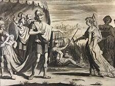 judith devant holopherne Jacob Matham après Hendrick Goltzius 1606 -1652 Israël