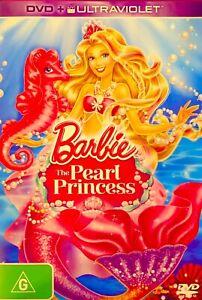92🆕sealed-BARBIE: THE PEARL PRINCESS R4 Dvd Rare
