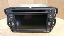 2007 SUBURBAN AM FM STEREO CD DVD NAVIGATION RADIO W/ VOICE RECOGNITION 15940102