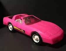 Gay Toys pink Corvette Barbies dream car made in Usa