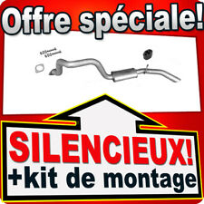 Silencieux arriere SSANGYONG MUSSO (FJ) 2.3 2.9 3.2 D Silencieux 2A1