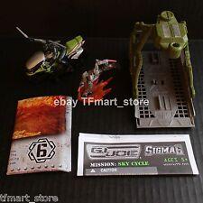 GI Joe Cobra Sigma 6 Mission Green SKY Cycle Snake-Eye
