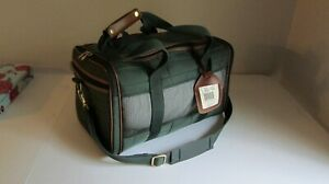 "Sherpa Travel Original Airline Approved Pet Carrier 19""X11.75""X11.5"" & Plush Bed"