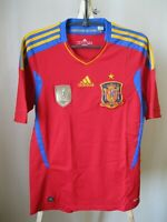 5+/5 Spain team 2011/2012 home Adidas Sz S shirt jersey football soccer maillot