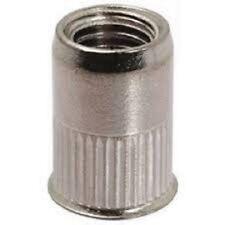 Ecrou à sertir , insert taraudé INOX M10 (2)