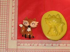 Fox Wolf Flexible Silicone Mold Polymer Clay Plaster 434 Resin Miniature