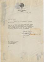 William M. Jardine signed autographed letter! RARE! Guaranteed Authentic!