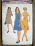 Vintage 1970s Sewing Pattern Simplicity #5578 Miss 2-in-1 Dress Size 16 UNCUT