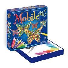 SENTOSPHERE Bastelset Mobile Schmetterlinge kreatives Basteln für Kinder 00243