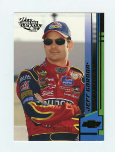 Jeff Gordon 2004 04 Press Pass Trackside Golden 019/100 Parallel Insert Card G20