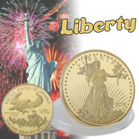 WR 2013 United States America Eagle Liberty 50 Dollar Gold Coin Collectibles 24K