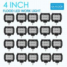 "20x 4inch 18W Led Work Light Bar Fog Flood Offroad Boat Truck Suv Atv Pickup 5""(Fits: Neon)"